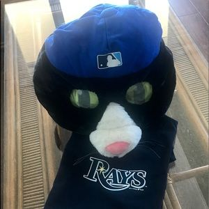 Tampa Bay Rays DJ Kitty Plush Headpiece